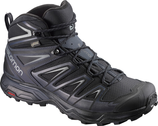 Salomon X ULTRA 3 MID GTX® Wanderschuhe Herren black india